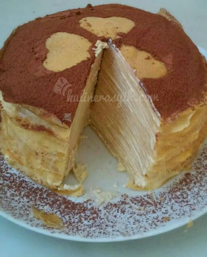 Resep Thousand Layer Cake