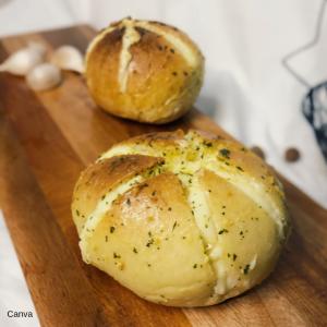 Korean-garlic-bread
